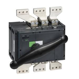 Interrupteur-sectionneur Interpact INS2500 3P 2500 A - Boitier moulé SCHNEIDER