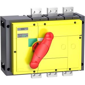 Interrupteur-sectionneur 1250A 3P - Boitier moulé - Compact INS1250 SCHNEIDER