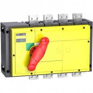 Interrupteur-sectionneur 1250A 4P - Boitier moulé - Compact INS1250 SCHNEIDER