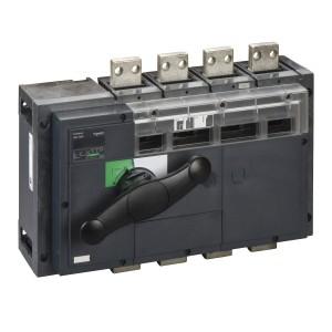 Interrupteur-sectionneur 1000A 4P - coupure visible - Compact INV1000 SCHNEIDER