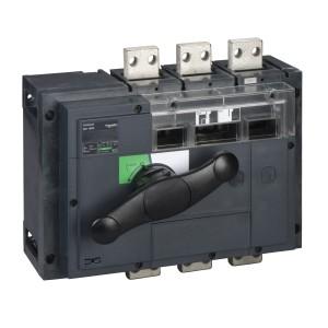 Interrupteur-sectionneur 1600A 4P - coupure visible - Compact INV1600 SCHNEIDER