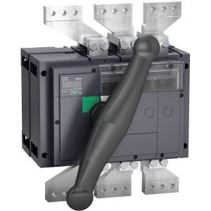 Interrupteur-sectionneur 2000A 3P - coupure visible - Compact INV2000 SCHNEIDER