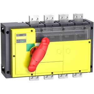Interrupteur-sectionneur 800A 4P - coupure visible - Compact INV800 SCHNEIDER