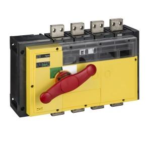Interrupteur-sectionneur 1250A 4P - coupure visible - Compact INV1250 SCHNEIDER