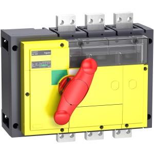 Interrupteur-sectionneur 1600A 3P - coupure visible - Compact INV1600 SCHNEIDER