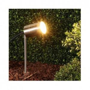 Projecteur piquet LED compatible GU5.3 - inox 304 VISION EL