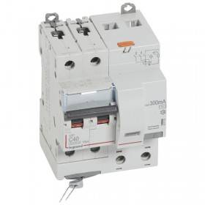 Disjoncteur différentiel DX³ 6000 2P - 230 à 400V~ - 40A - 300mA - courbe C LEGRAND