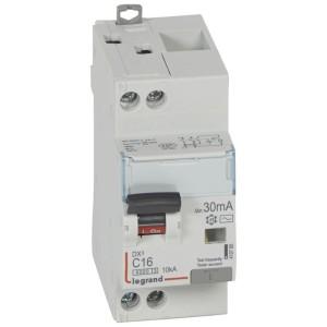 Disjoncteur différentiel DX³ 6000 U+N - 230V~ - 16A - Type AC- 30mA LEGRAND