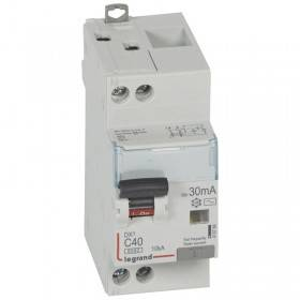 Disjoncteur différentiel DX³ 6000 U+N - 230V~ - 40A - Type AC- 30mA LEGRAND