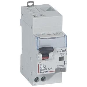 Disjoncteur différentiel DX³ 6000 U+N - 230V~ - 32A - Type AC- 30mA LEGRAND
