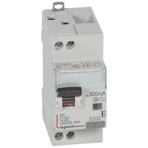 Disjoncteur différentiel DX³ 6000 U+N - 230V~ - 32A - Type AC - 300mA LEGRAND