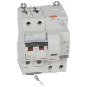 Disjoncteur différentiel DX³ 6000 2P - 230V~ - 32A - Type AC - 300mA LEGRAND