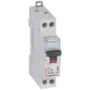 Disjoncteur DX³ 10000 - 16kA - U+N 230V~ 16A - courbe C - 1 module LEGRAND