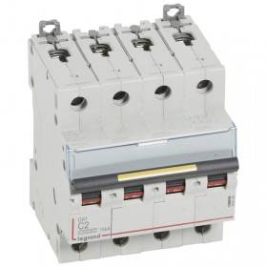 Disjoncteur DX³ 10000 - 16kA - 4P - 400V~ - 2A - courbe C - 4 modules LEGRAND