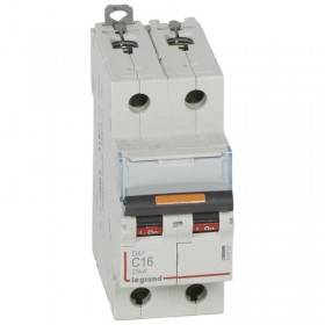Disjoncteur DX³ 25kA - 2P 230V~ à 400V~ - 16A - courbe C - 2 modules LEGRAND