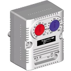Thermostat double ClimaSys - à ouverture/à fermeture - °C SCHNEIDER