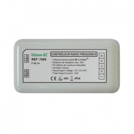 Contrôleur RGBW pour bandeaux LED 12V/24V VISION EL