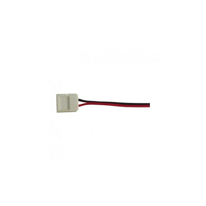 Câble double connecteur rapide monocolor pour bandeaux LED 8mm VISION EL