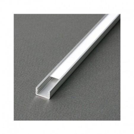 Profilé fin aluminium brut 2m pour bandeaux LED VISION EL