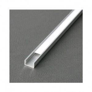 Profilé fin aluminium anodisé 2m pour bandeaux LED VISION EL