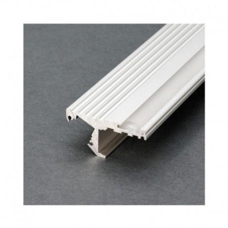 Profilé marche aluminium anodisé 2m pour bandeaux LED VISION EL