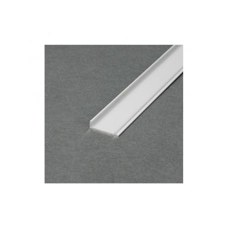 Couvercle profilé marche aluminium anodisé 2m pour bandeaux LED VISION EL