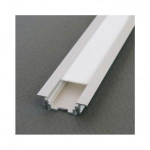 Profilé rainure aluminium brut 1m pour bandeaux LED VISION EL