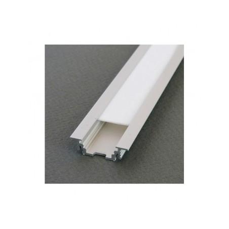 Profilé rainure aluminium anodisé 2m pour bandeaux LED VISION EL