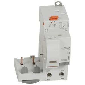 Bloc différentiel adaptable DX³ 2P 230V~ - 40A - typeAC 30mA - pour disj 1 module/pôle LEGRAND