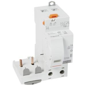 Bloc différentiel adaptable DX3 2P 230V~ - 63A - typeAC 1000mA sélectif - pour disj 1 module/pôle LEGRAND