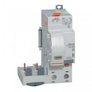 Bloc différentiel adaptable DX3 2P 230V~ - 40A - typeF 30mA - pour disj 1 module/pôle LEGRAND