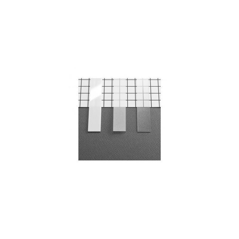 Diffuseur profilé 10.2mm dépoli 1m pour bandeaux LED VISION EL