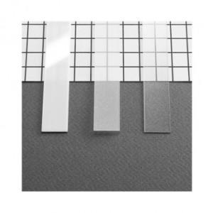 Diffuseur profilé 15.4mm blanc 1m pour bandeaux LED VISION EL