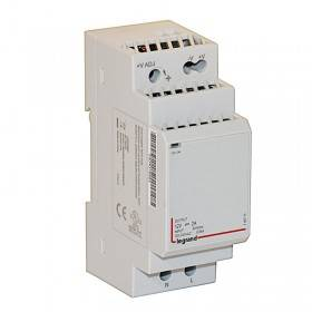 Alimentation à découpage monophasée 24W - 2A - 2 modules LEGRAND