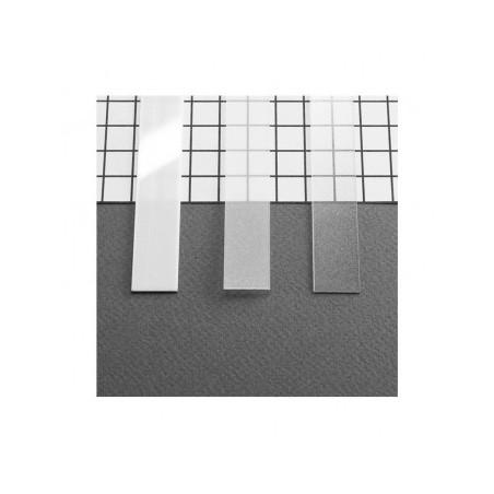 Diffuseur profilé 15.4mm dépoli 1m pour bandeaux LED VISION EL