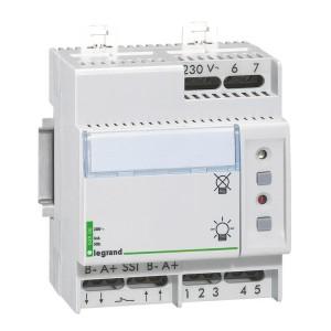 Télécommande pour blocs autonomes ou sources centralisées d'éclairage de sécurité - multifonctions - non polarisée LEGRAND