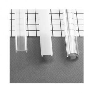 Diffuseur clic profilé 15.4mm transparent 1m pour bandeaux LED VISION EL
