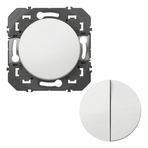 Transformeur pour réaliser 5 fonctions va-et-vient et poussoir DOOXIE finition blanc LEGRAND