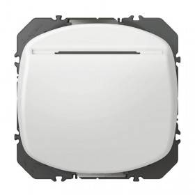 Interrupteur à badge DOOXIE 10AX 250V~ finition blanc LEGRAND