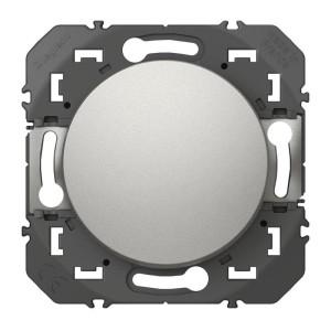 Interrupteur ou va-et-vient dooxie 10AX 250V~ finition alu LEGRAND
