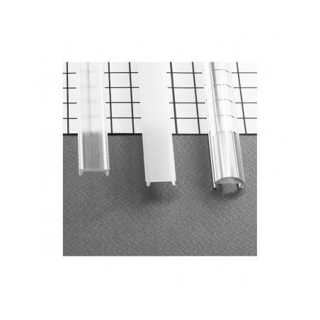 Diffuseur clic profilé 15.4mm blanc 2m pour bandeaux LED VISION EL