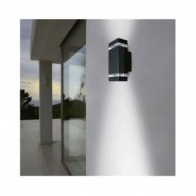 Applique murale LED GU10 x 2 - Gris Anthracite VISION EL