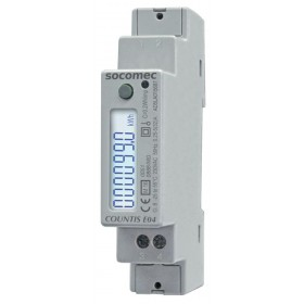 Compteur d'énergie active COUNTIS E04 - Direct 40A SOCOMEC