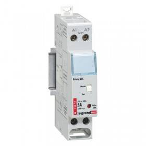 Relais modulaire pour DSC gaz alimentation 24V~ 50Hz - 1 module LEGRAND