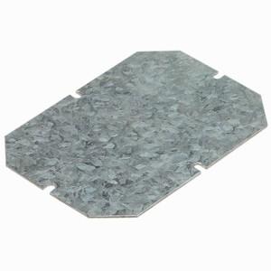Plaque de montage métal ép. 15/10 pour boîtiers 155x110mm LEGRAN
