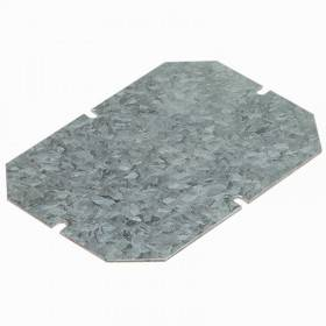 Plaque de montage métal ép. 15/10 pour boîtiers 180x140mm LEGRAND