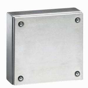 Boîtier industriel Atlantic inox carré - 200x200x120mm LEGRAND