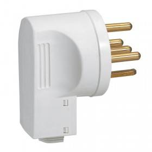 Fiche 3P+N+T 20A avec serre-câbles LEGRAND