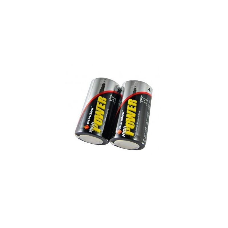 Piles LR14 1.5V Super Alcalines SUNDEX VISION EL