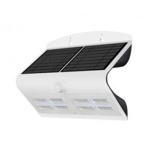 Applique murale LED solaire 6.8W 4000°K blanc + détecteur VISION EL
